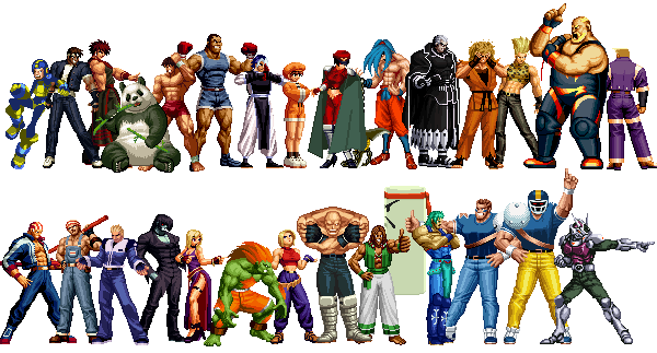 KOF Anthology All Characters Pack <strong>(Updated 19 09 05