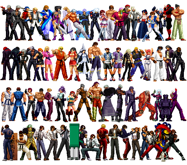 KOF Anthology All Characters Pack <strong>(Updated 19 06 12)</strong>