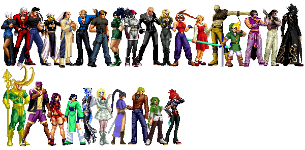 MFG: KOF Anthology All Characters Pack (Updated 19 09 05)